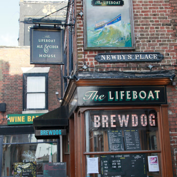 Image: The Lifeboat pub in Margate, England
