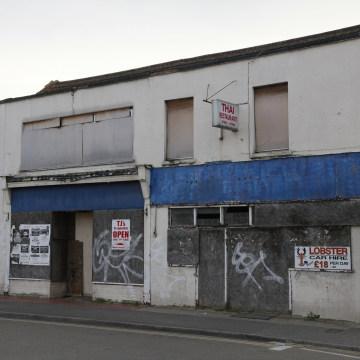 Image: Former restaurant in Margate, England