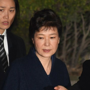 Image: Former South Korean President Park Geun-hye