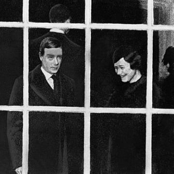 Image: King Edward VIII and Wallis Simpson