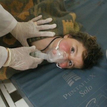 Image result for Syria gas attack reportedly kills dozens, including children