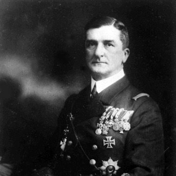 Image: Miklos Horthy, the regent and head of state of Hungary