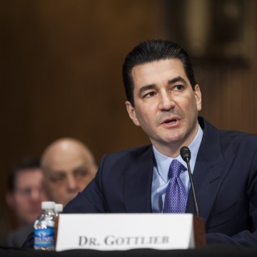 Image: Nomination Hearing Held For Scott Gottlieb To Head The FDA Department