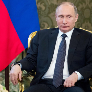 Image: Putin believes U.S. airstrikes on Syria will further harm relations with Washington.