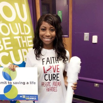Be A Match patient, Shaunise Robinson