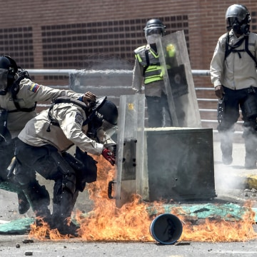 Image: VENEZUELA-CRISIS-OPPOSITION