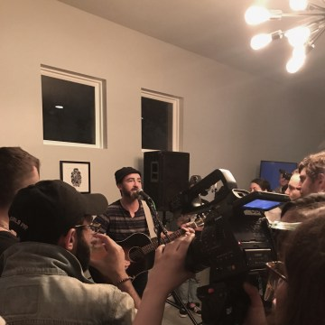 Image: James Mercer, lead singer of The Shins and co-founder of the Pasted App, plays an intimate show at the SXSW Conference