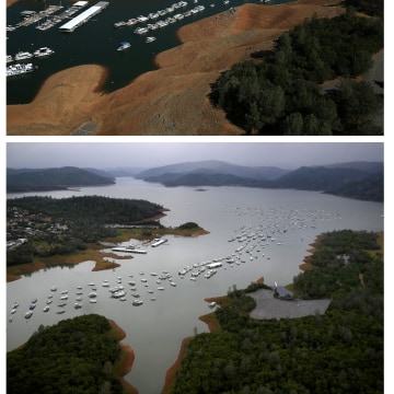 Image: Then And Now: California's Drought Officially Declared To Be Over