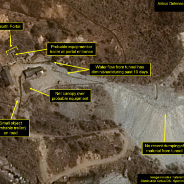 Image: Airbus satellite imagery showing North Korean nuclear site ready for 6th nuclear test