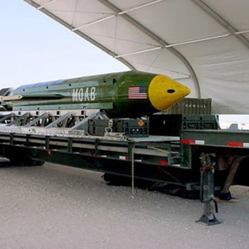 Image: GBU-43/B Massive Ordnance Air Blast bomb