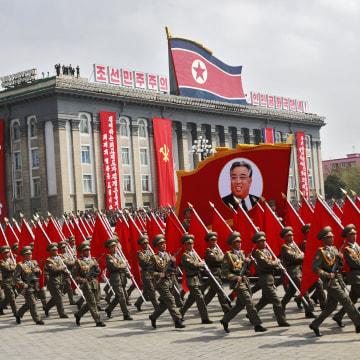 Image: North Korea celebrates Day of the Sun festival