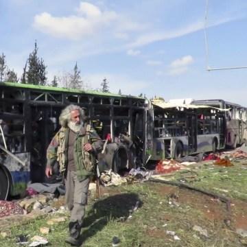 IMAGE: Syria car bombs