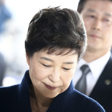 Image: Impeached South Korean former President Park Geun-hye