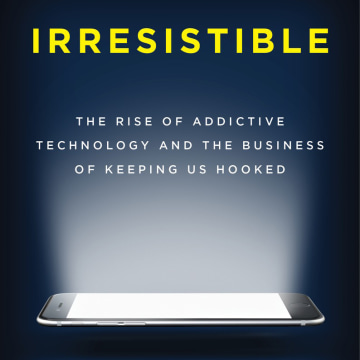 Image: Cover of the book Irresistible by Adam Alter