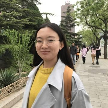 Image: Bridget Wang, master's student