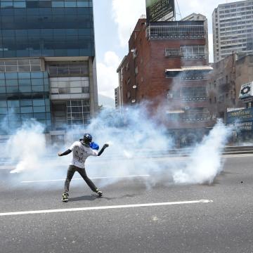 Image: VENEZUELA-OPPOSITION-PROTEST