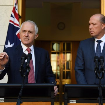 Image: Prime Minister Malcolm Turnbull announces changes to immigration policies