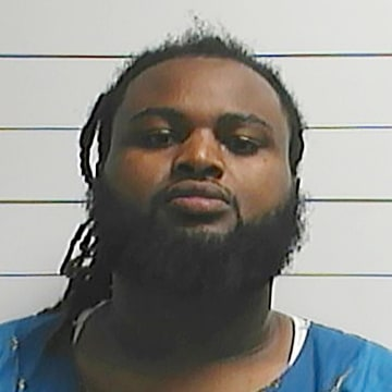 Image: Cardell Hayes in a booking photo released by the New Orleans Police Department