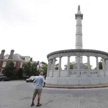 Jefferson Davis Monument Richmond, Virginia