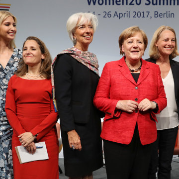 Image: Ivanka Trump Attends W20 Conference In Berlin