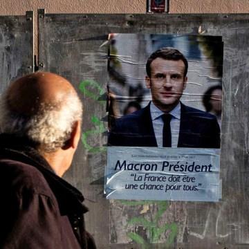 Image: Macron poster