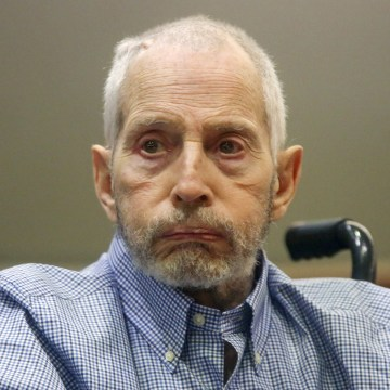 Image: Roburt Durst on trial in Los Angeles