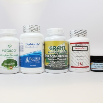 Image: The Food and Drug Administration warned 14 companies to stop making claims about herbal products and other treatments marketed to treat or prevent cancer.