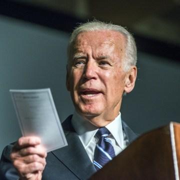 Image: Former Vice President Joe Biden visits George Mason University
