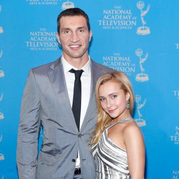 Image: Boxer Wladimir Klitschko and actress/model Hayden Panettiere