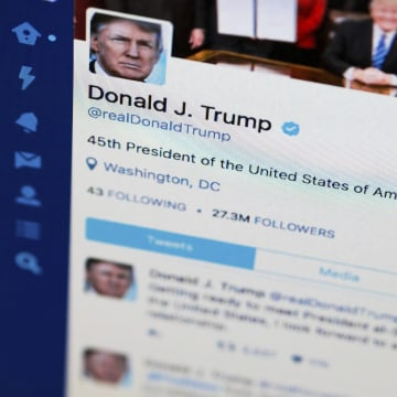 Image: President Donald Trump's Twitter feed