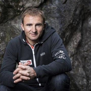Image: Swiss Alpinist Ueli Steck