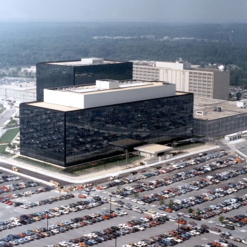 Image: An undated handout photo shows the National Security Agency headquarters building in Fort Meade, Maryland