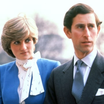 Image: Prince Charles and Princess Diana in London