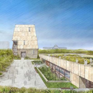 Image: Obama Presidential Museum concept