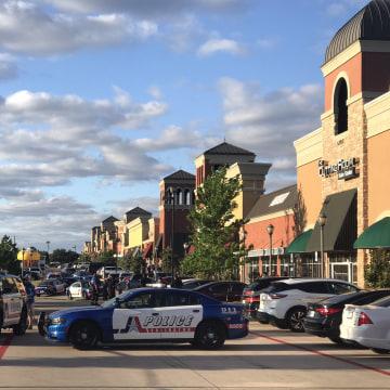 Image: Arlington Police Cordon Off Area After A Shooting