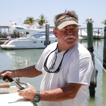 Image: Fishing Charter Boat Captain Butch Green talks about the Obama and Trump healthcare plans