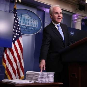 Image: Secretary of Health and Human Services Tom Price