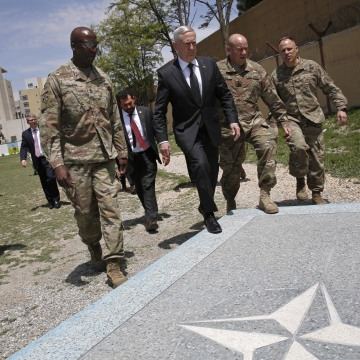 Image: James Mattis, David Clark, Christopher Haas