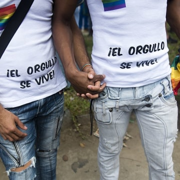 VENEZUELA-GAY PRIDE-PARADE