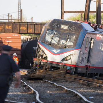 Image: Amtrak Train Derailment
