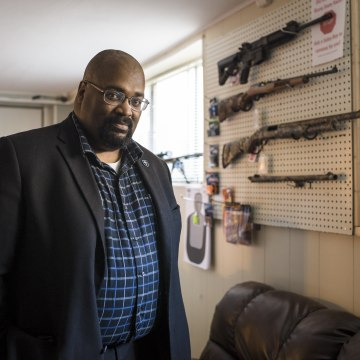 Image: Kevin Jones is the Ohio state director of the National African-American Gun Association