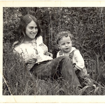Image: Stewart Butterfield, founder of Flickr and Slack, pictured with his mother.