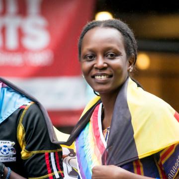 Image: Kasha Nabagesera Attends New York City Pride 2015