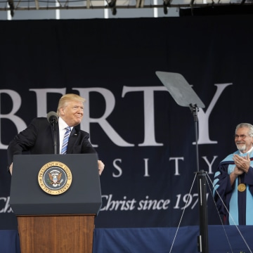 Image: President Trump Speaks at Liberty University