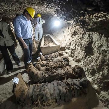 Image: Egypt Archeology Mummies