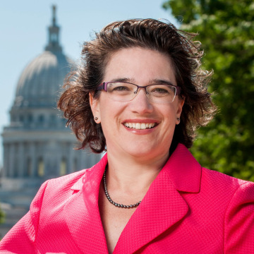 Image: Wisconsin state rep Melissa Sargent