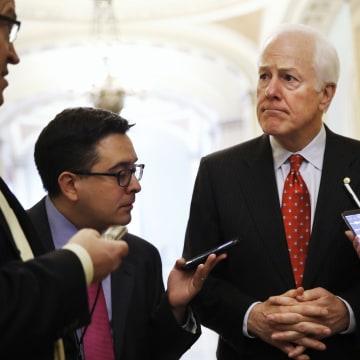 Image: Senate Majority Whip John Cornyn