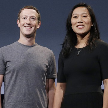 Image: Mark Zuckerberg, Priscilla Chan