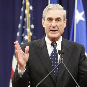 Image: FBI Director Robert Mueller in 2013