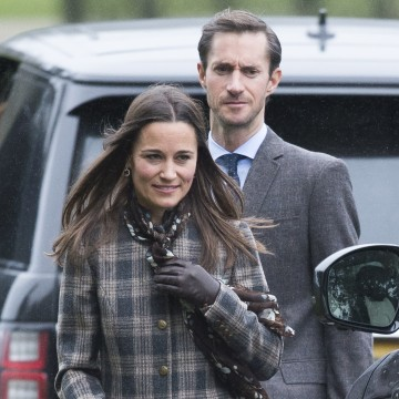 Image: Pippa Middleton and James Matthews